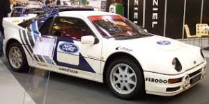The classic Ford RS200