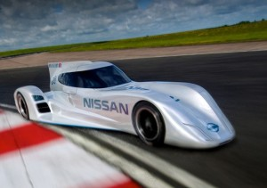 The new Nissan will make history at the Le Mans race in June.